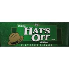 HAT'S OFF MENTHOL 100'S BOX / 10