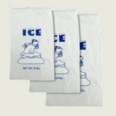 ICE BAGS WITH STRING/500- 8lb