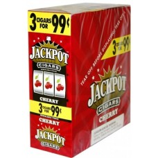 Jackpot 3 for 99 cents 15 pouches CHERRY