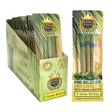 King Palm Super Slow Burning Wraps - Slim 24-3Pk