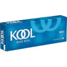 KOOL BLUE 100'S BOX