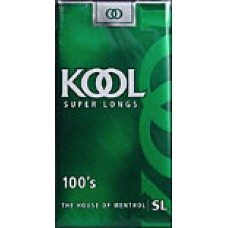 KOOL GREEN 100's BOX