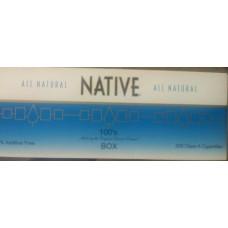 NATIVE BLUE 100'S BOX