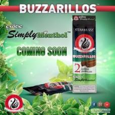 BUZZARILLOS EXOTIC SIMPLY MENTHOL 15/2pk