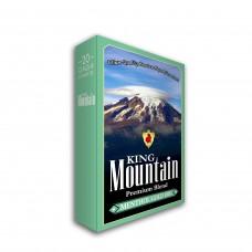 KING MOUNTAIN MENTHOL GOLD 100'S BOX