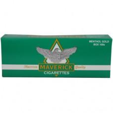 MAVERICK MENTHOL GOLD 100'S BOX
