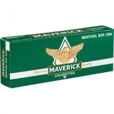 MAVERICK MENTHOL 100'S BOX