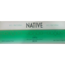 NATIVE MENTHOL GREEN 100'S BOX