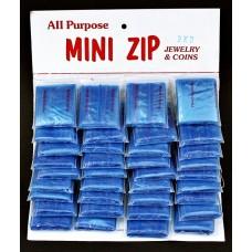 MINI ZIP BLUE 2x2/ 36