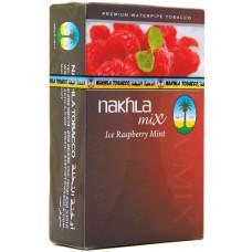 NAKHLA Hookah Tob. Ice Raspberry Mint/250g