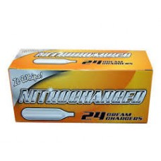 Nitrocharged Cream Chargers / 24