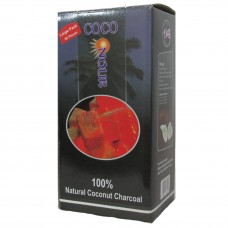 NOUR COCO CHARCOAL SMALL CUBES 96ct 1kg BOX / 1
