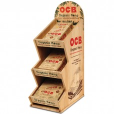 OCB ORGANIC HEMP DISPLAY/3-24ct Single Wide