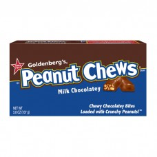 GOLDENBERG'S PEANUT CHEWS MILK CHOCOLATEY .6oz BARS / 24ct (25c)