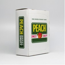PEACH SWEET SNUFF1.15 oz/12 PK