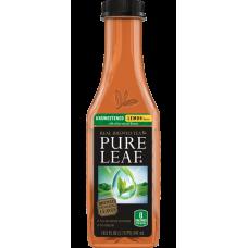 PURE LEAF TEA UNSWEETENED W/ LEMON /12-18.5oz BOTTLES