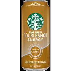 STARBUCKS COFFEE DOUBLE SHOTS ENERGY 12-15oz CANS