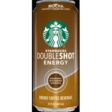 STARBUCKS MOCHA DOUBLE SHOTS ENERGY 12-15oz CANS