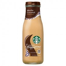 STARBUCKS FRAPPUCCINO COCONUT MOCHA 12-13.7oz BOTTLES