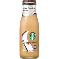 STARBUCKS FRAPPUCCINO WHITE CHOCOLATE 12-13.7oz BOTTLES