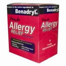 Prime Aid Allergy Relief 30 packs of 2 (Benadryl)