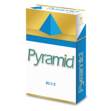 PYRAMID BLUE (LIGHTS) KING BOX