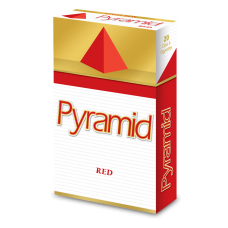 PYRAMID RED (FULL FLAVOR) KING BOX