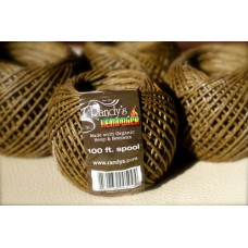 RANDY'S 100' Bundle of Hemp Wick/6