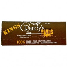 RANDY'S ROOTS KING SIZE ORGANIC HEMP 110MM 25ct / 1