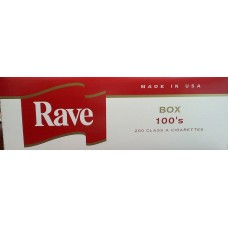 RAVE RED 100'S BOX