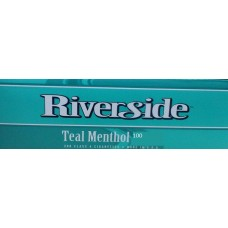RIVERSIDE TEAL GREEN MENTHOL 100