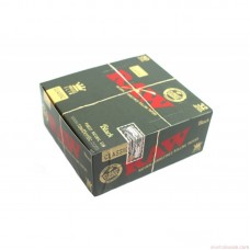 RAW BLACK KING SIZE SLIM/50ct  Double Pressed Premium Paper