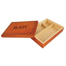 RAW SPECIAL WOOD BOX FOR EASY ROLLING / 1