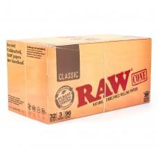 RAW CLASSIC PRE-ROLL CONE KING/32-3pk-96