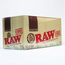 RAW Organic Pre Roll Cone 1.25/32-6pk (32)