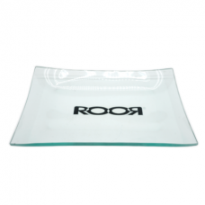 """ROOR"" GLASS ROLLING TRAY 6x10 6mm thick / 1 BOX"