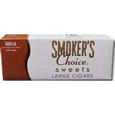 SMOKER'S CHOICE VANILLA 100'S