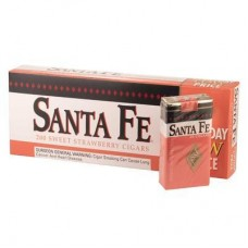 SANTA FE STRAWBERRY FILTER CIGAR/10