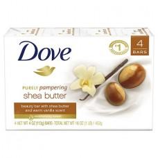DOVE SOAP Shea Butter Bar 135g/12
