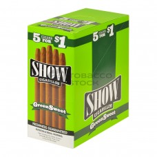 SHOW CIGARILLOS 5 FOR $1 GREEN SWEET