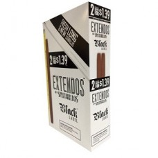 EXTENDOS cigarilos Black Label/15-2-99c
