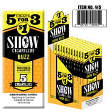 SHOW CIGARILLOS 5 FOR $1 BUZZ