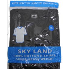 SKYLAND BLACK T SHIRT /12 2XL