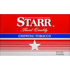 STARR CHEWING TOBACCO $2.19/12