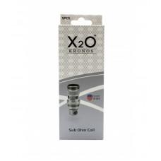 X2O KRONOS SUB OHM COIL 5pc (0.3ohm) / 10