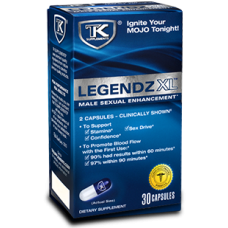 TK LEGENDZ XL MALE PILLS 4ct/4pk    (MSRP $11.99/pack)