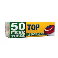 TOP MENTHOL KING TUBES/5-200