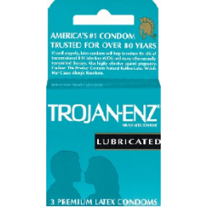TROJAN LIGHT BLUE LUBRICATED 6/3