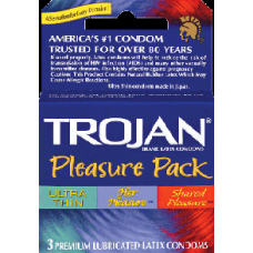TROJAN PLEASURE PACK 6/3