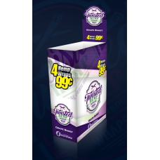 Twisted Hemp Grape Burst 15-4pk (60 total wraps) 4/99c Nicotine Free!